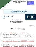Cours de l'économie du Maroc