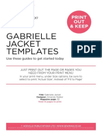 GabrielleJacket pattern