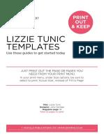 LizzieTunic pattern