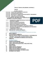 PARTIDAS- PISTAS Y VEREDAS