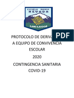Protocolo de deribación covid -19