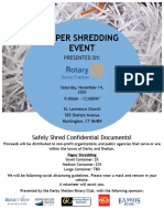 Derby-Shelton Rotary Paper Shredding