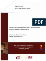 Detección de arritmias mediante parámetros de calidad de señal y estadÃ_sticos V4