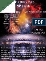 EL ORIGEN DEL UNIVERSO.