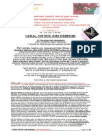 Re118291139us Legal Notice and Demand - Fee Schdule-long Form 9.11.20-20pgs. With Stamp