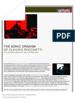 Digimag 44 - May 2009. The sonic orgasm of Claudio Rocchetti