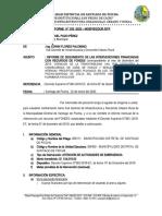 INFORME N° 033-ATENSION A LA TRANSITABILIDAD VIAL