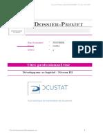 [MODEL] Dos.PROJET - L.Fouchere