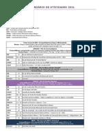Calendário de Atividades - 2021 - 30.10
