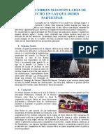 LAS COSTUMBRES MÁS POPULARES DE AYACUCHO EN LAS QUE DEBES PARTICIPAR