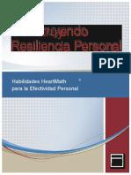 Construyendo la resiliencia personal