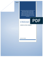 GCE 2 - UNIDAD II - CUENTAS POR COBRAR - Guia