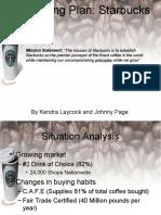 starbucks executive summary 2015