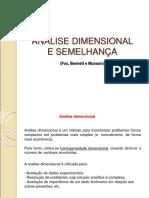 Análise dimensional e semelhança (1)