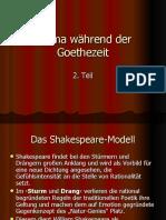 Drama während der Goethezeit 2
