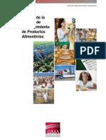 MANUAL DE LA CADENA DE ABASTECIMEINTO DE PRODUCTOS  ALIMENTICIOS