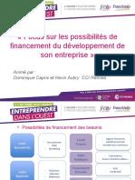 3 Possibilité de financement du développement d'entreprise - Capris et Aubry.pptx
