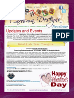 Carisma Designs Newsletter-February 2011