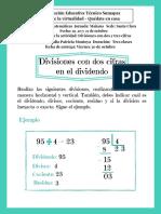 Taller de Matemáticas_ Divisiones con dos y tres cifras