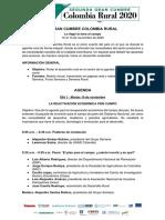 Agenda II Gran Cumbre Colombia Rural