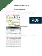 Manual ORTORECTIFICACION  con dos fotografias