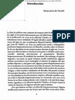 Valdés-Intro. (en Cien años de filosofía en Hispanoamérica)
