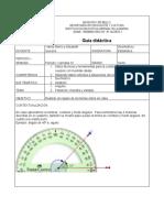 Guía geometría y estadística semana 9 y 10 sexto
