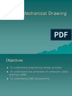 CAD vs Mechanical Drawing , cad cam