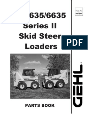 SL5635 & SL6635 Series II Parts Manual | Screw | Axle
