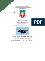 F-16 Mishap Aib 30 June 2020 Shaw Afb (Acc)