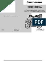 GT650 R S Owner Manual