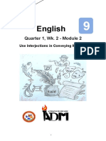 English9_Q1_W2_Mod2_Use_Interjection in Conveying Meaning_v3