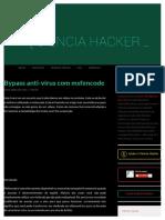Bypass anti-vírus com msfencode.pdf