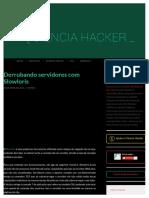 Derrubando servidores com Slowloris.pdf