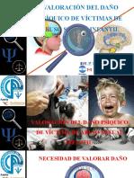 VALORACIÓN DEL DAÑO PSÍQUICO DE VÍCTIMAS DE ABUSO SEXUAL INFANTIL - Dr. Luis Bravo