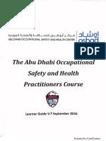 The oshad Abu Dhabi Practitioners Course V
