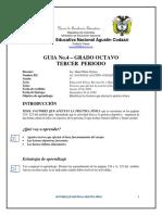 GUÍA No.4 EDUFISICA 8