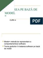 Testare model