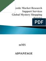 MMRSS Mystery Shopping