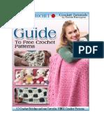 Crochet Stitches eBook
