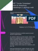 Ilies Lilia elab 9 intr 7 Prelucrarea medicamentoasa si uscarea canalului radicular (1).pptx
