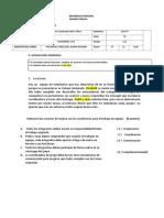 Examen- Desarrollo Personal