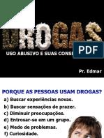 DROGAS  PREVENÇÃO DE USO ABUSIVO