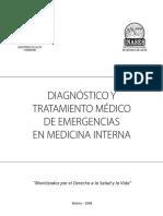 Diagnóstico y Tratamiento Médico de Emergencias en Medicina Interna