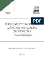 Diagnóstico y Tratamiento Médico de Emergencias en Ortopedia y Traumatología