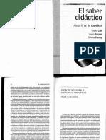 Alicia Camilloni Capitulo 2 Didáctica General y Didáctica Específicas