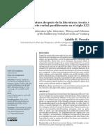 2020 - Adolfo R. Posada - La literatura después de la literatura (Letral, 2020)