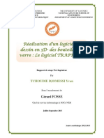 applicationDessin3D+calculMetriques_Yvan_TCHOUDIE_rapport_stage_pre_ingenieur_2013