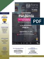 Agenda Gaceta UNAM - Noviembre 9