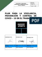 PLAN PARA LA VIGILANCIA PREVENCIÓN Y CONTROL DE COVID - 19 EN EL TRABAJO - INDOOR SPORTS PERU (1).docx